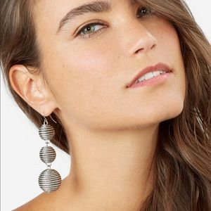 Concordia Crispin Ball Triple Drop Earrings